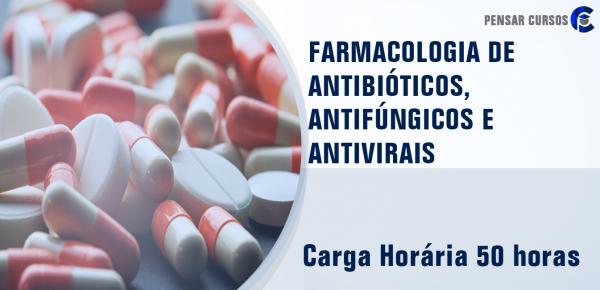 Saiba mais sobre o curso Farmacologia de Antibióticos, Antifúngicos e Antivirais
