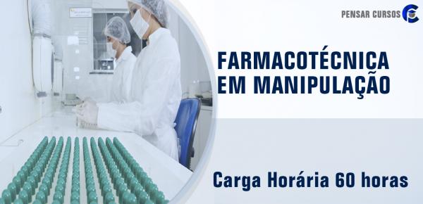 Saiba mais sobre o curso Farmacotécnica em Manipulação