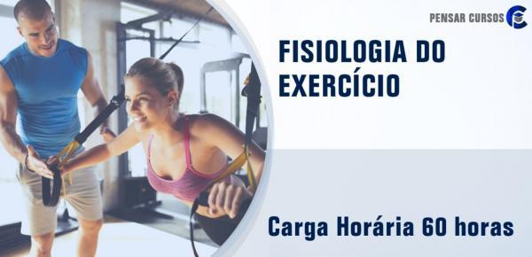 Saiba mais sobre o curso Fisiologia do Exercício