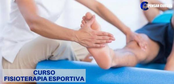 Saiba mais sobre o curso Fisioterapia Esportiva