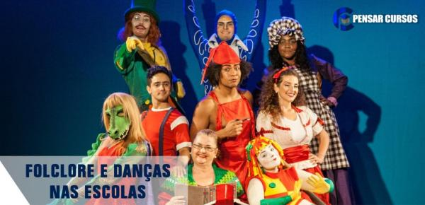 Saiba mais sobre o curso Folclore e Danças nas Escolas