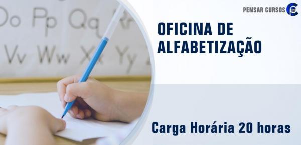Saiba mais sobre o curso Formação Docente para Oficina de Alfabetização