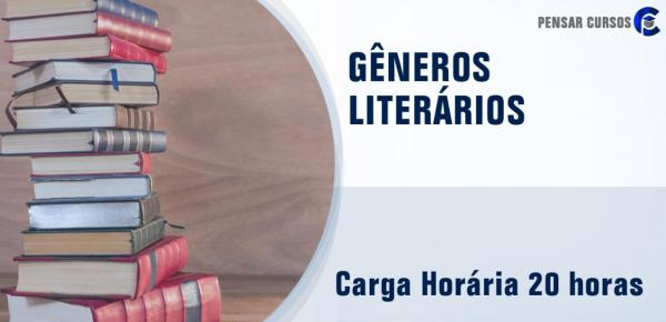 Saiba mais sobre o curso Gêneros Literários