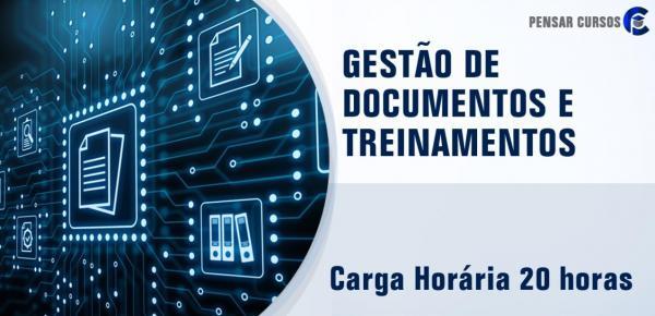 Saiba mais sobre o curso Gestão de Documentos e Treinamentos
