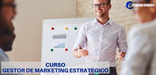 Saiba mais sobre o curso Gestor de Marketing Estratégico