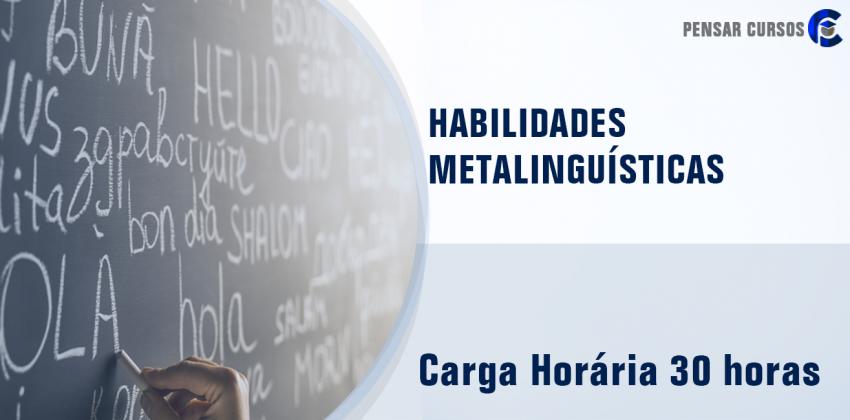 Habilidades Metalinguísticas