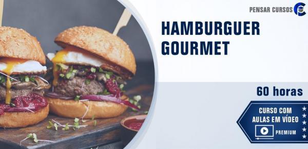 Saiba mais sobre o curso Hamburguer Gourmet