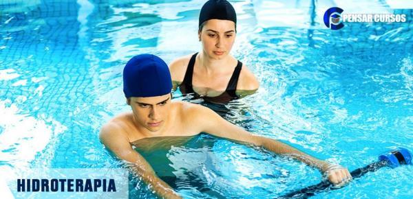 Saiba mais sobre o curso Hidroterapia