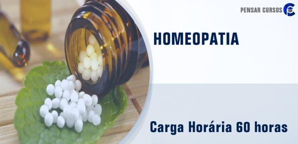 Saiba mais sobre o curso Homeopatia