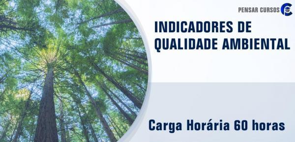 Saiba mais sobre o curso Indicadores de Qualidade Ambiental