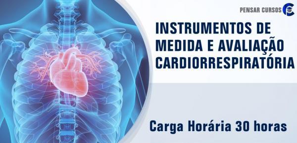 Saiba mais sobre o curso Instrumentos de Medida e Avaliação Cardiorrespiratória