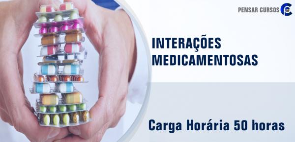 Saiba mais sobre o curso Interações Medicamentosas