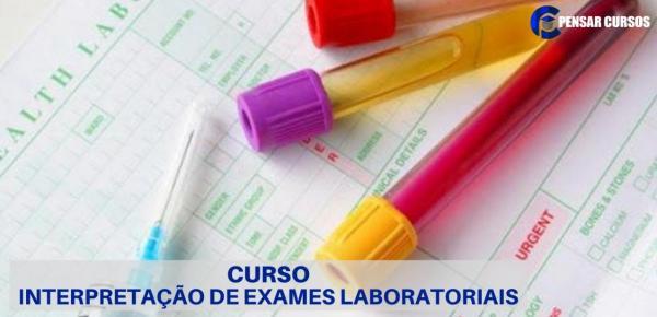 Saiba mais sobre o curso Interpretação de Exames Laboratoriais