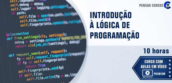 Saiba mais sobre o curso Introdução à Lógica de Programação