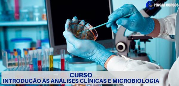 Saiba mais sobre o curso Introdução às Análises Clínicas e Microbiologia