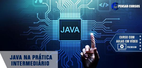 Saiba mais sobre o curso Java na Prática - Intermediário