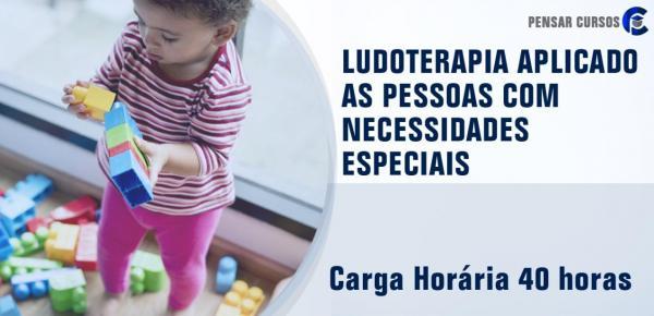 Saiba mais sobre o curso Ludoterapia Aplicado as Pessoas com Necessidades Especiais