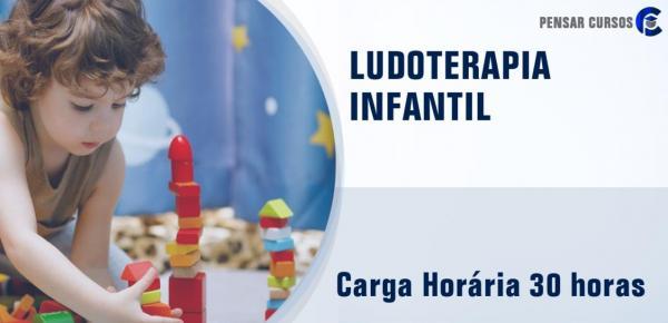 Saiba mais sobre o curso Ludoterapia Infantil