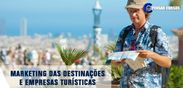 Saiba mais sobre o curso Marketing das Destinações e Empresas Turísticas