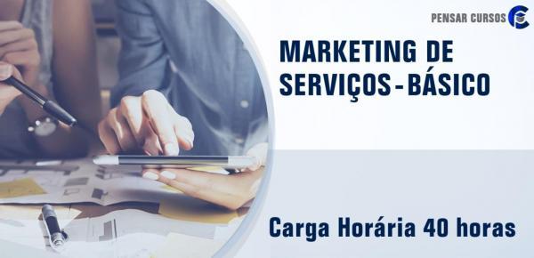 Saiba mais sobre o curso Marketing de Serviços - Básico
