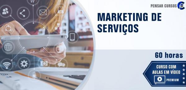 Saiba mais sobre o curso Marketing de Serviços