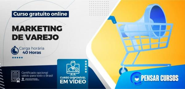 Saiba mais sobre o curso Marketing de Varejo