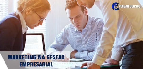 Saiba mais sobre o curso Marketing na Gestão Empresarial
