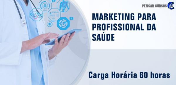 Saiba mais sobre o curso Marketing para Profissional da Saúde