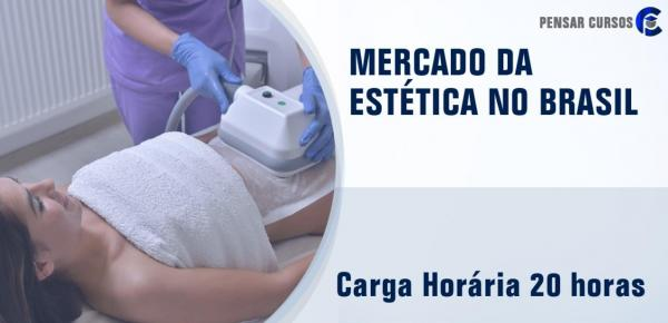 Saiba mais sobre o curso Mercado da Estética no Brasil