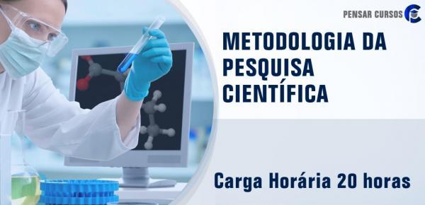Saiba mais sobre o curso Metodologia da Pesquisa Científica
