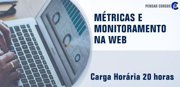 Saiba mais sobre o curso Métricas e Monitoramento na Web