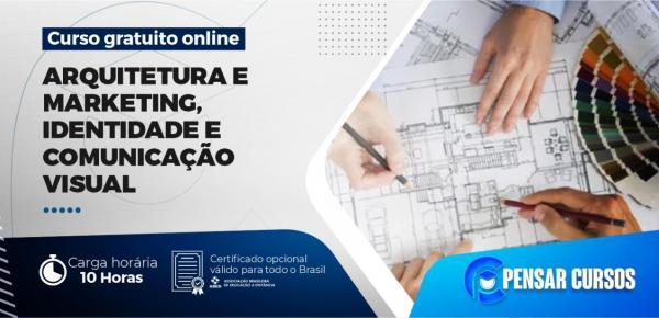 Saiba mais sobre o curso Minicurso Arquitetura e Marketing, Identidade e Comunicação Visual