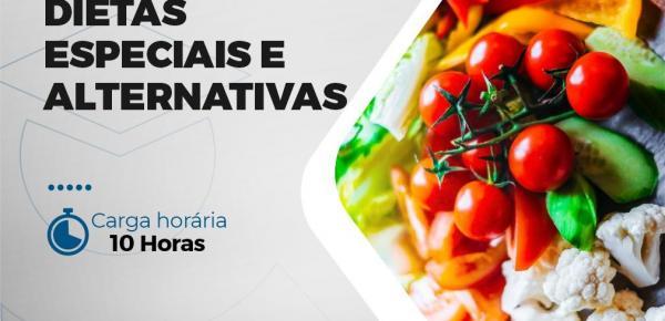 Saiba mais sobre o curso Minicurso Dietas Especiais e Alternativas