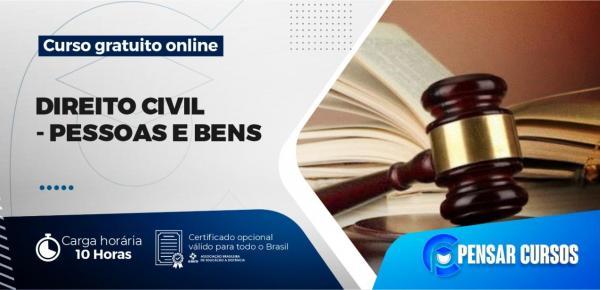 Saiba mais sobre o curso Minicurso Direito Civil – Pessoas e Bens