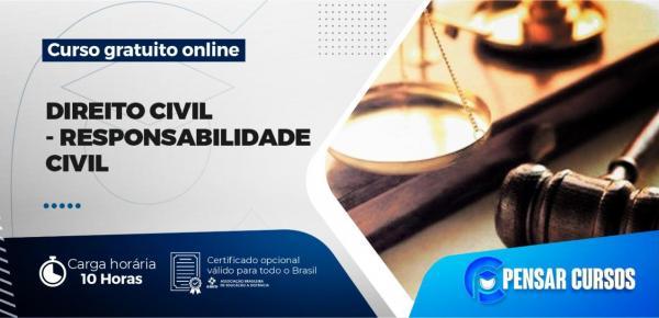 Saiba mais sobre o curso Minicurso Direito Civil - Responsabilidade Civil