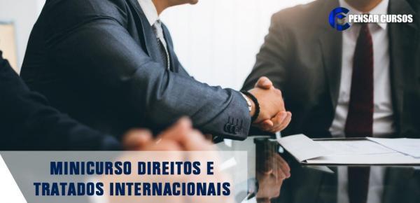 Saiba mais sobre o curso Minicurso Direitos e Tratados Internacionais