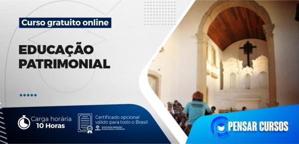 Saiba mais sobre o curso Minicurso Educação Patrimonial