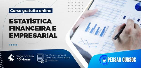 Saiba mais sobre o curso Minicurso Estatística Financeira e Empresarial