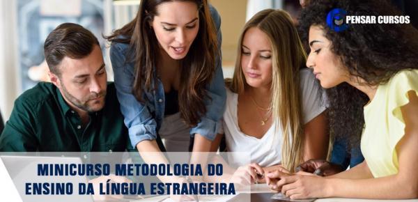 Saiba mais sobre o curso Minicurso Metodologia do Ensino da Língua Estrangeira