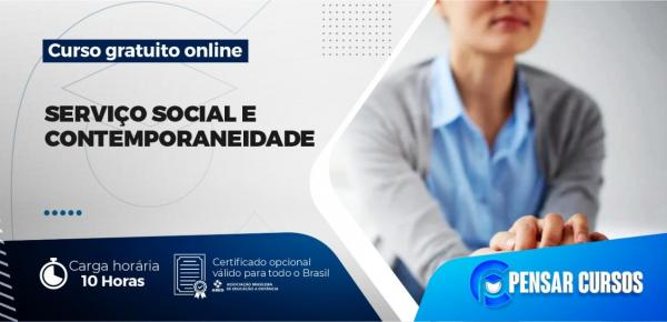 Saiba mais sobre o curso Minicurso Serviço Social e Contemporaneidade