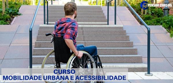 Saiba mais sobre o curso Mobilidade Urbana e Acessibilidade