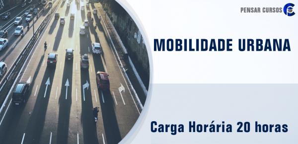 Saiba mais sobre o curso Mobilidade Urbana