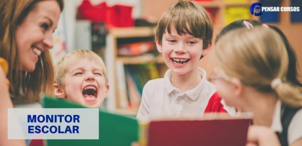 Saiba mais sobre o curso Monitor Escolar