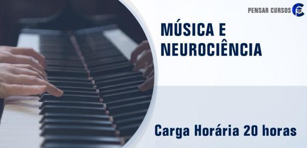 Saiba mais sobre o curso Musica e Neurociência