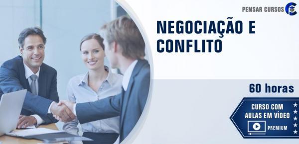 Saiba mais sobre o curso Negociação e Conflitos
