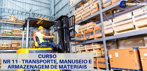 Saiba mais sobre o curso NR11 - Transporte e Manuseio de materiais