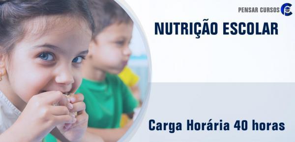Saiba mais sobre o curso Nutrição Escolar