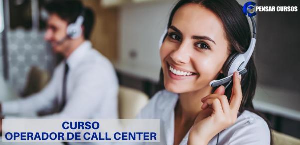 Saiba mais sobre o curso Operador de Call Center