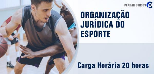 Saiba mais sobre o curso Organização Jurídica do Esporte