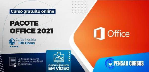 Saiba mais sobre o curso Pacote Office 2021